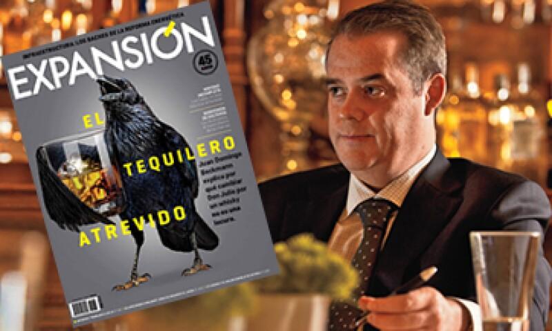 Juan Domingo Beckmann cuenta a Expansión los planes de Casa Cuervo con la adquisición de Bushmills. (Foto: Jesús Almazán)
