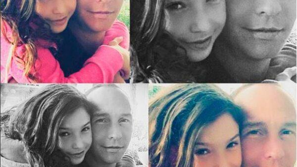 La conductora compartió fotografías que muestran el claro parecido que hay entre su hija mayor y su esposo Erik Rubín.