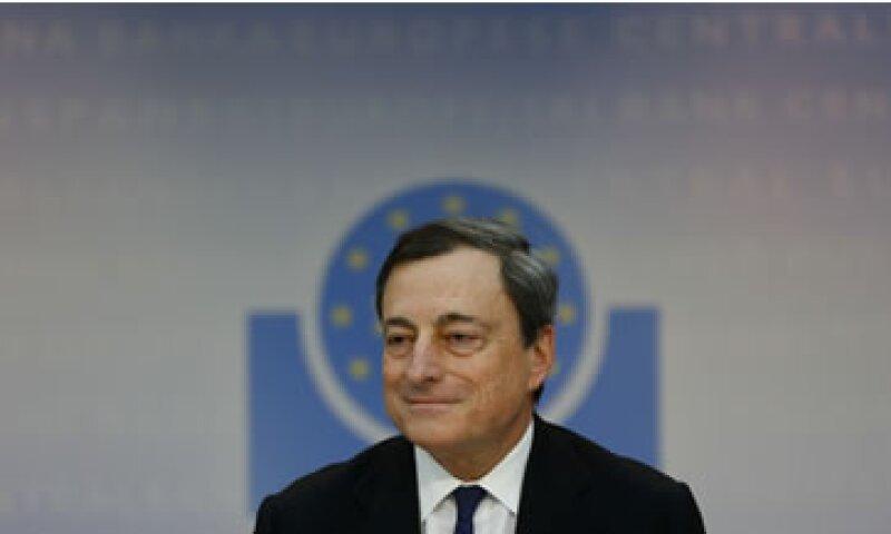 Mario Draghi minimizó las preocupaciones sobre una baja inflación en Europa. (Foto: Reuters)