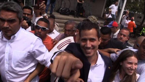 Guaidó regreso a Venezuela