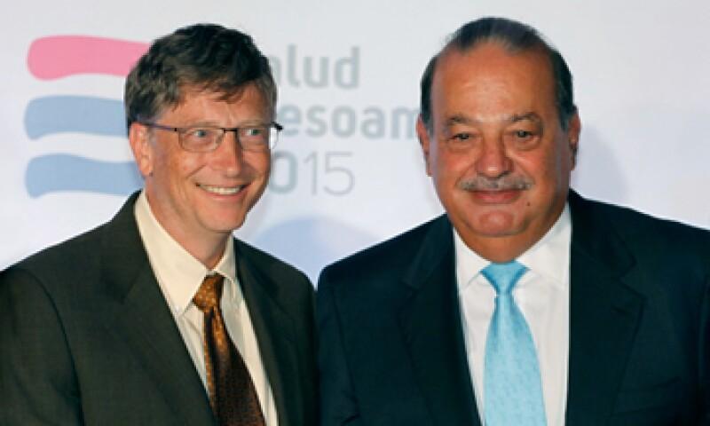 Bill Gates y Carlos Slim inauguraron un complejo de biociencias en las instalaciones del CIMMYT. (Foto: tomada de gatesnotes)