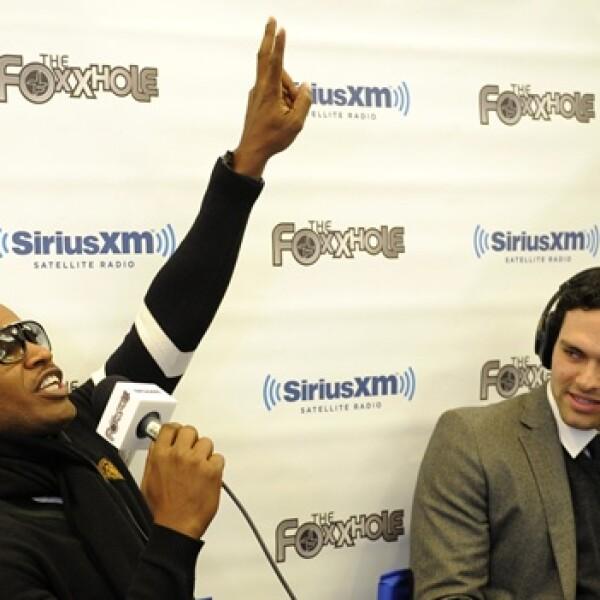 jamie foxx, actor, entrevista a un quarterback