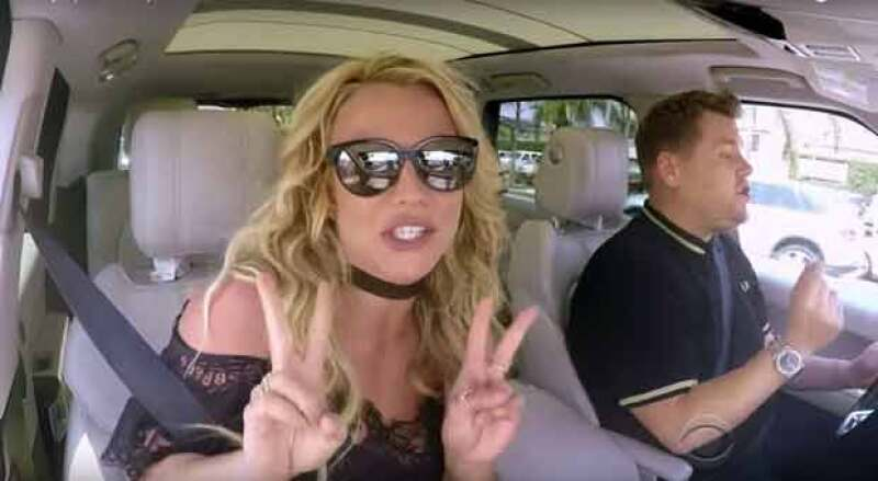 Fue el turno de Britney Spears de hacer carpool kareoke al lado de James Corden y el resultado fue simplemente imperdible.
