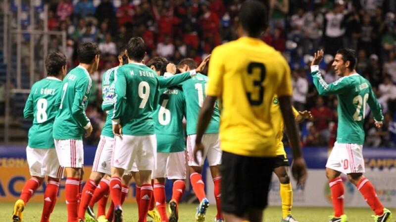 México vs Jamaica, Tri-sub 20, pre mundial