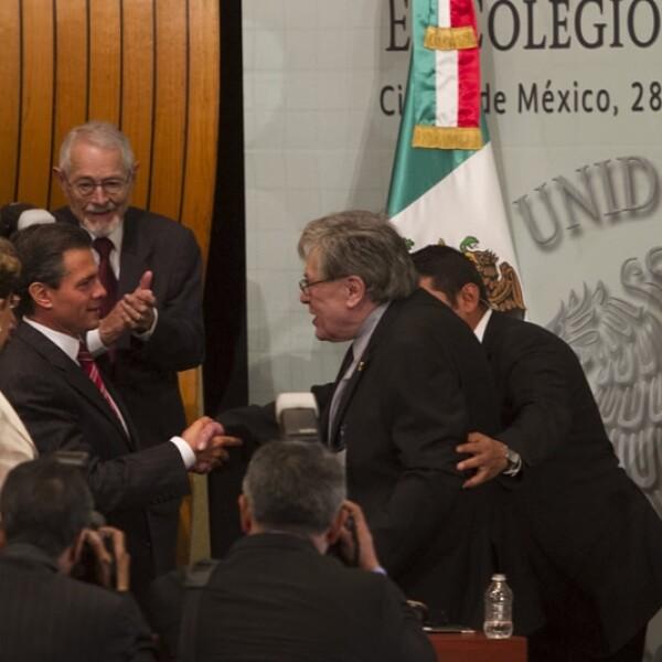 José Emilio Pacheco y Peña Nieto