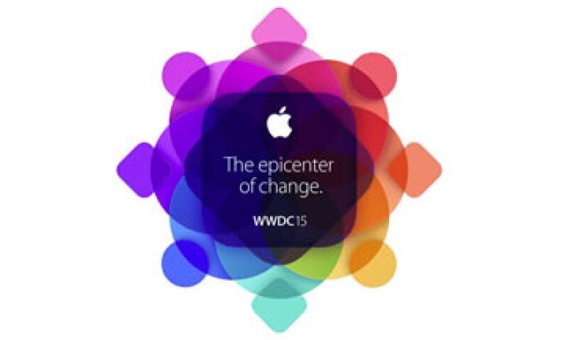 La conferencia principal del WWDC se llevará a cabo el 8 de junio. (Foto: Apple)