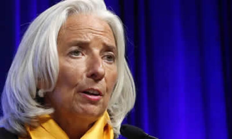 Lagarde destaca la línea de crédito flexible otorgada por el FMI a México. (Foto: Reuters)