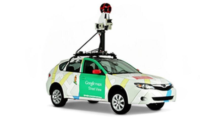 Los vehículos de Google Maps son todoterreno. (Foto: tomada de google.com)