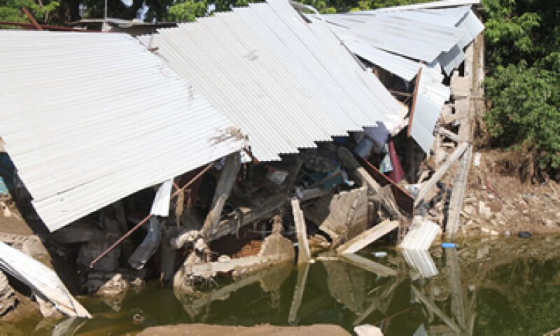 Las aseguradoras aportarían un 20% del costo total de los daños. (Foto: Notimex)