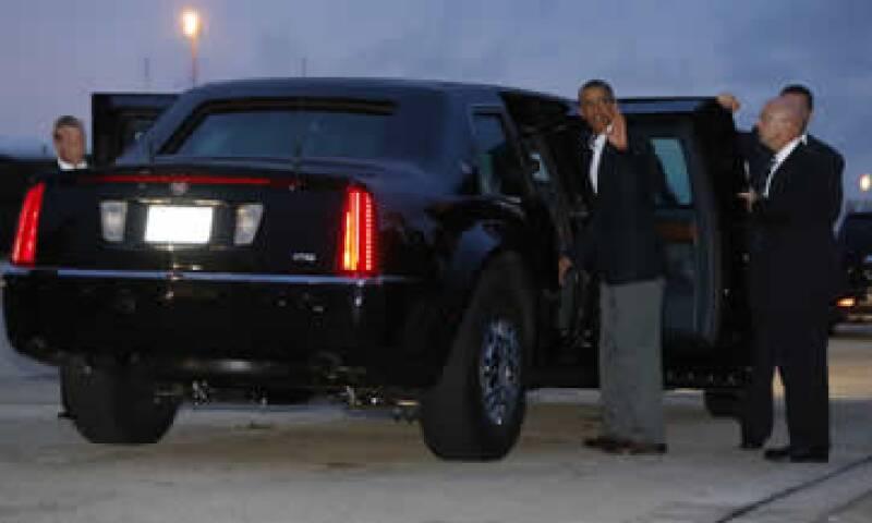 Todos los detalles del vehículo oficial del presidente son secretos. (Foto: Reuters)