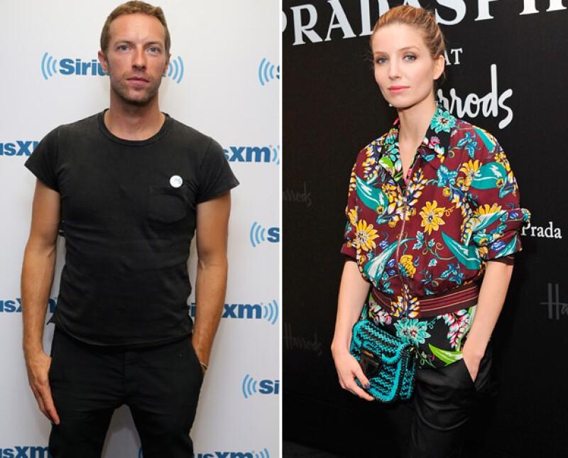 De acuerdo con una publicación estadounidense, el líder de Coldplay fue visto recientemente en una cena romántica con la protagonista de The Tudors.