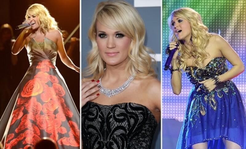 Carrie Underwood llega a los 30 con todo el éxito, después de haber ganado Latin American Idol en 2005.