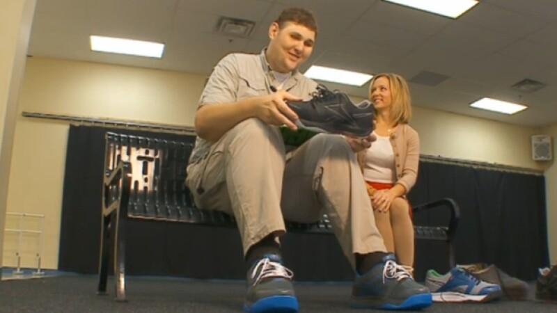 hombre, alto, zapatos,