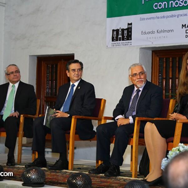 Ricardo Ramírez, Rodolfo Lazy Tamayo, Salvador Morelos y Tiahoga Ruge