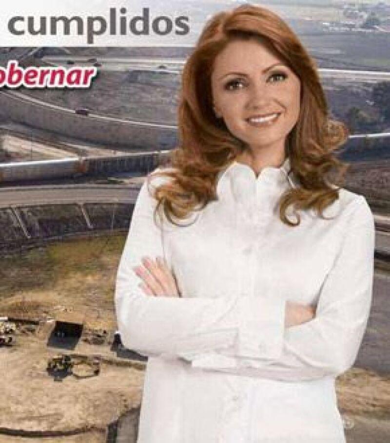 Angélica fue imagen del Estado de México durante el mes de mayo.
