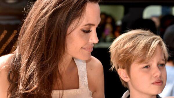 Angelina Jolie y su hija Shiloh
