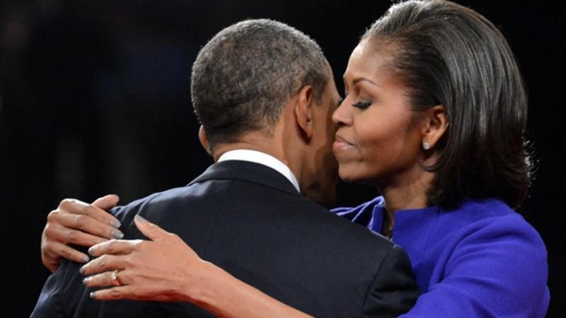 Michelle y Barack