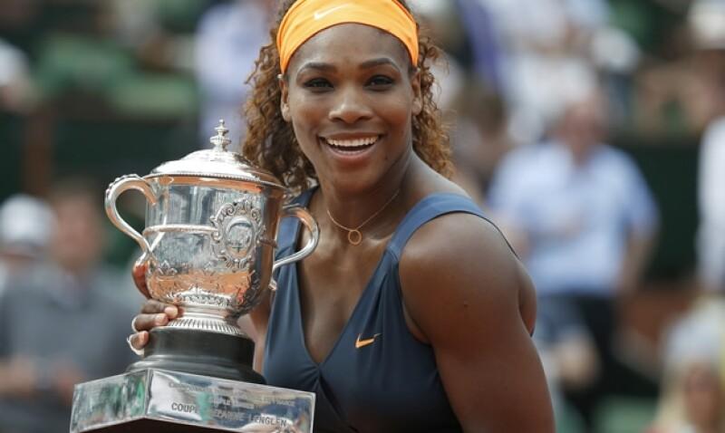 Serena Williasm gana Roland Garros