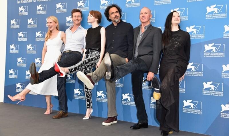 Birdman González Iñárritu elenco