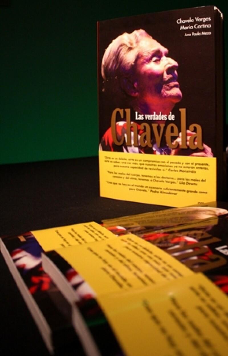 Este jueves se presentó el libro Las verdades de Chavela, escrito por María Cortina y por la propia cantante.
