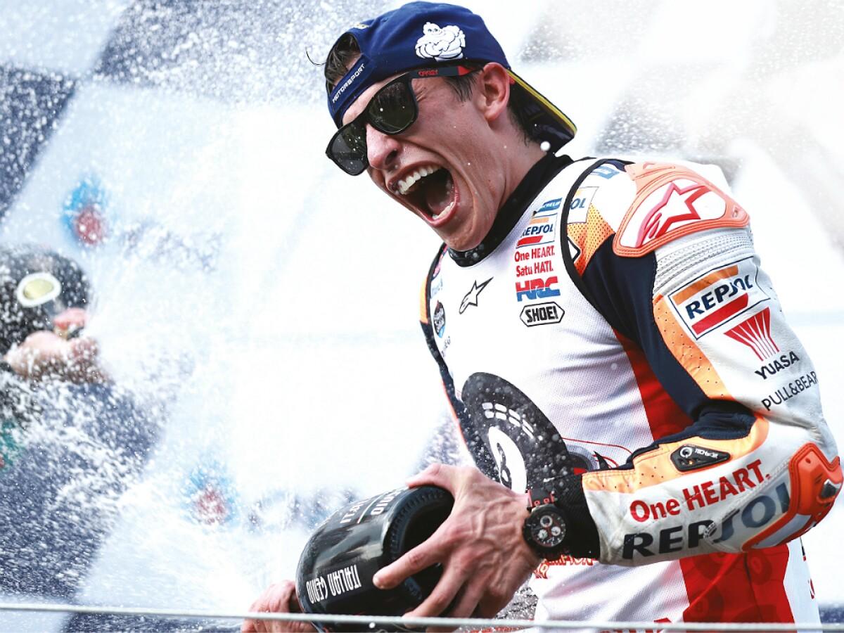 El sexto título de Marc Márquez en MotoGP lo muestra invencible