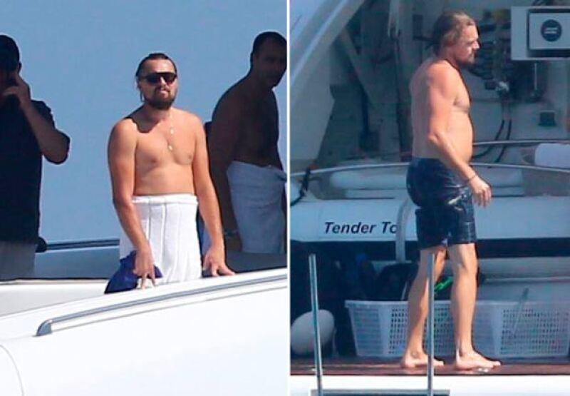 Así luce actualmente el actor: hace unas semanas fue captado en Francia con un evidente sobrepeso.
