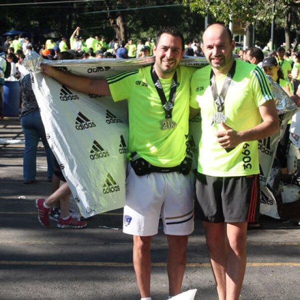 Arturo Pareyon y Luis del Buey