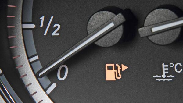 gasolina tablero auto