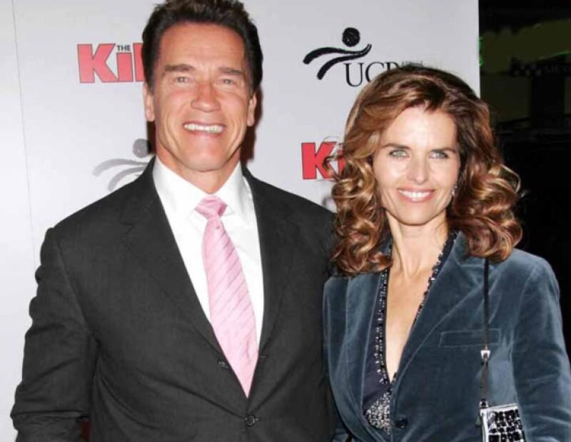 El actor y ex gobernador de California tuvo que reconocer públicamente sus infidelidades, mismas que le costaron su matrimonio con Maria Shriver.