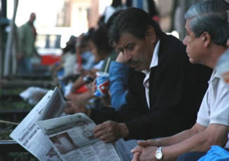 México ha visto afectado su mercado laboral debido a la crisis económica. (Foto: Archivo)