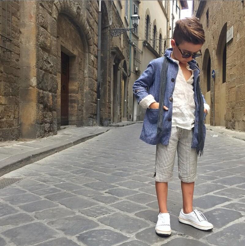 A sus 7 años, Alonso Mateo sigue dándonos cátedra de estilo.