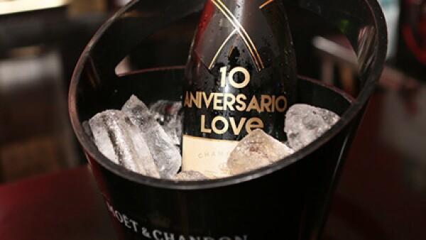 Botella especial por el aniversario de LOVE