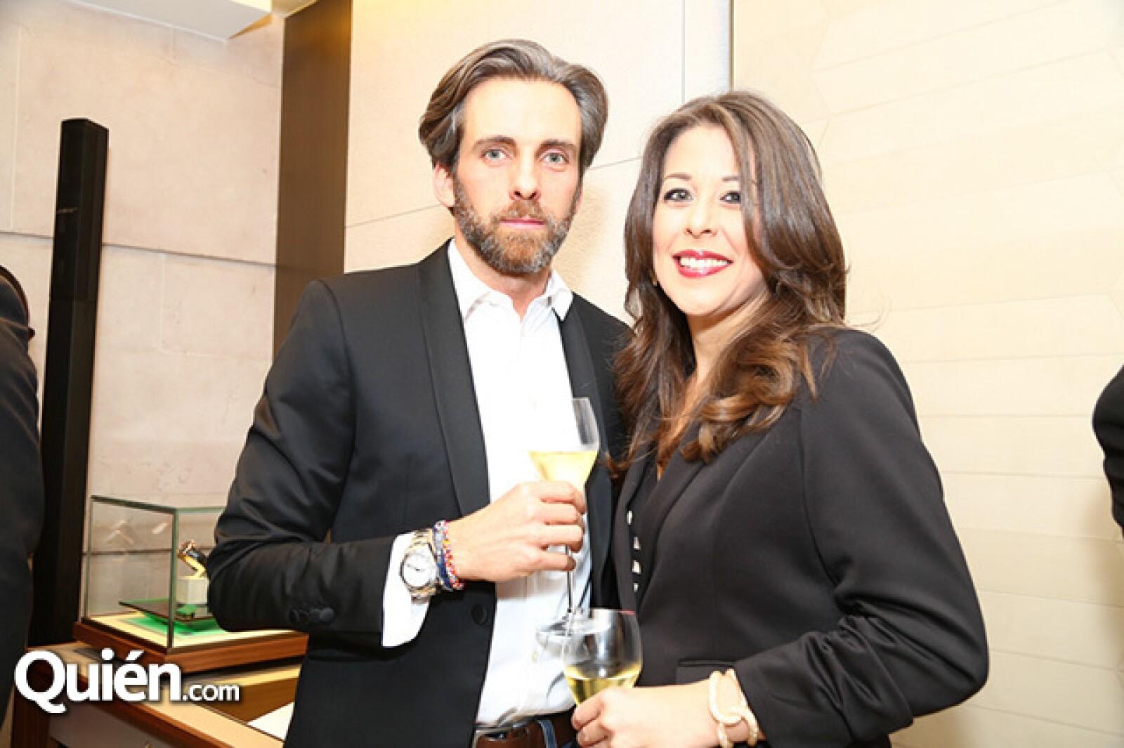 Helen Loeb y José Ignacio Abreu