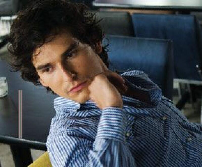 Chico guapo. Alan fue elegido como uno de los hombres más sexys de Quién en 2007.