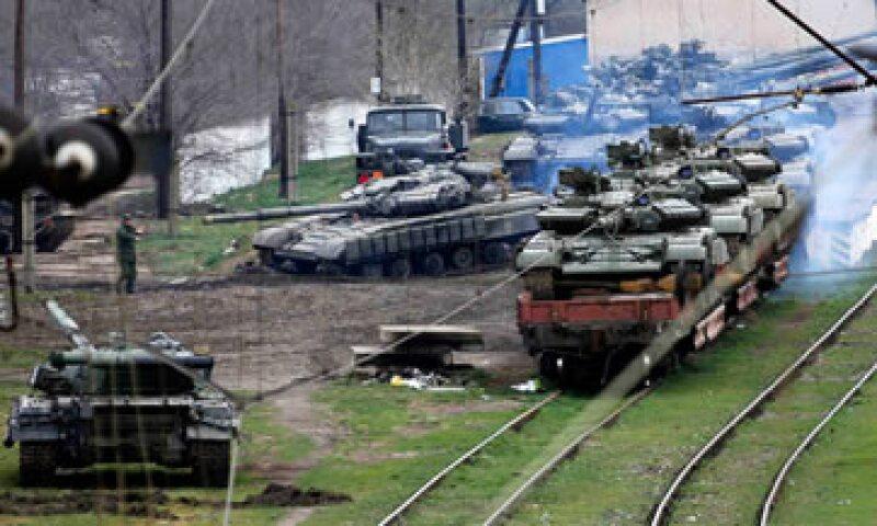 El riesgo político en Ucrania se mantendría ante las elecciones, apuntó la agencia. (Foto: Reuters)