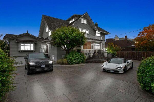 La mansión en Vancouver