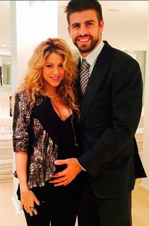 La cantante publicó recientemente esta fotografía junto a su pareja, la primera de su segundo embarazo.