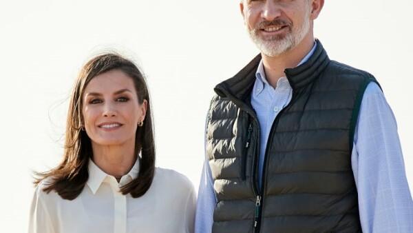 Reina Letizia de España y rey Feipe VI