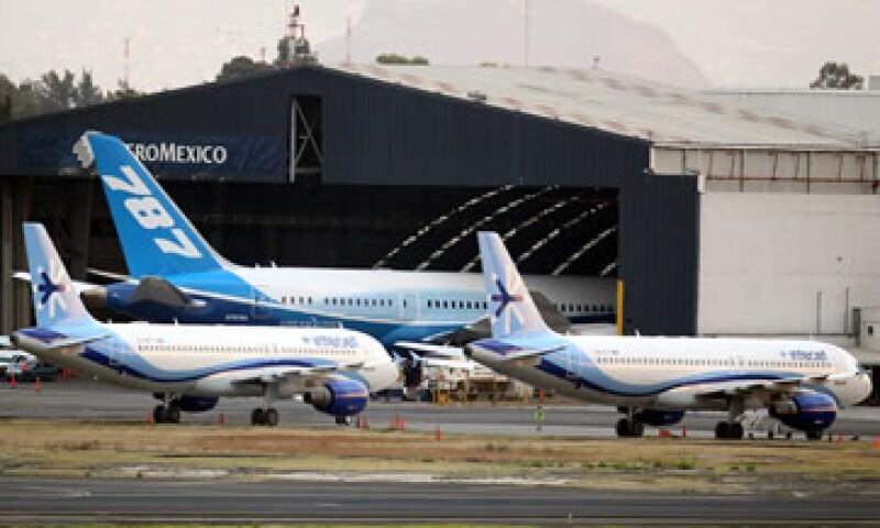En el Aeropuerto de la Ciudad de México operan 50 aerolíneas, entre ellas Aeroméxico. (Foto: Notimex)