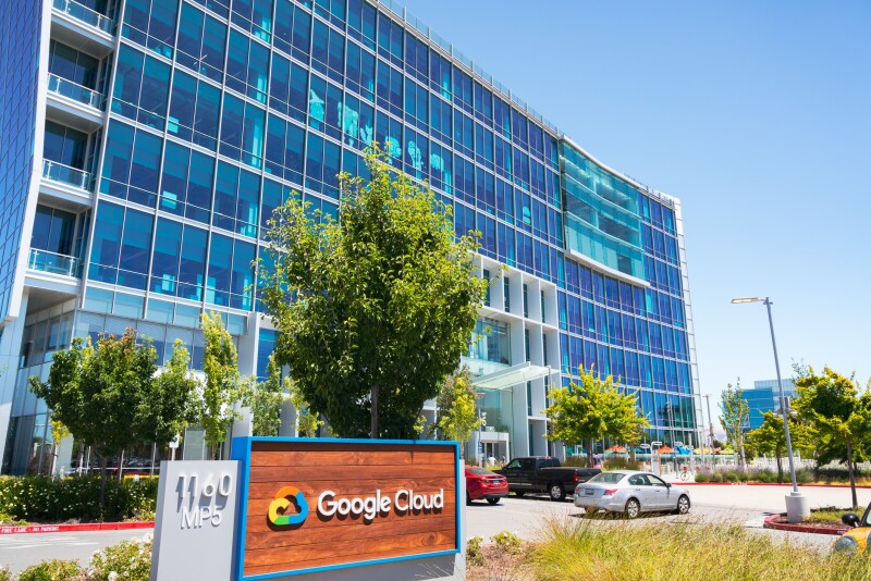 Google Cloud headquarters located in Silicon Valley