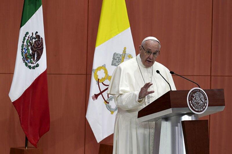 En su primera visita a México, Francisco I se encontró con el presidente y varios obispos, ¿qué temas se trataron? Te contamos punto por punto.