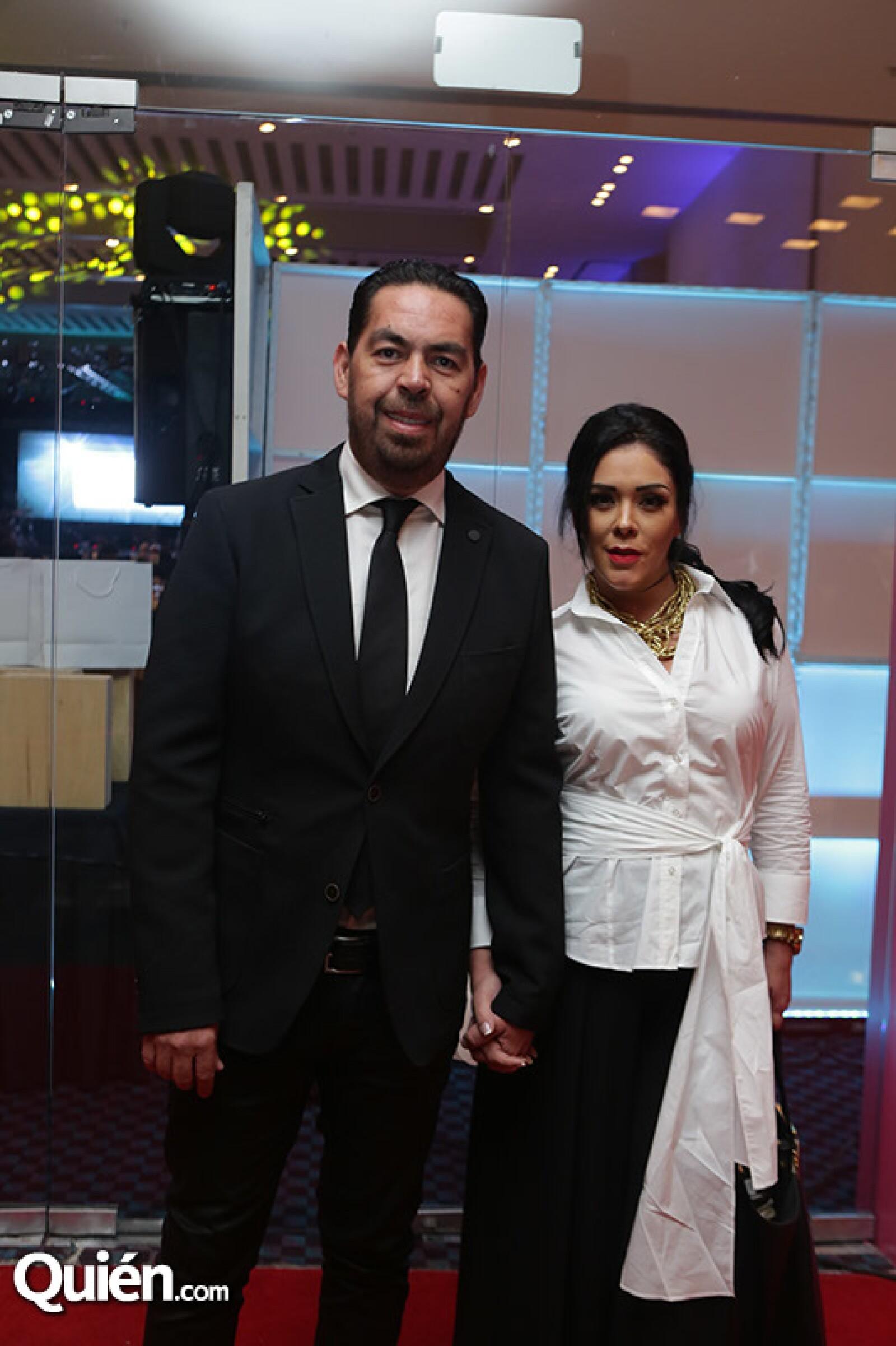 Jorge Dalessio y Marichelo Puente