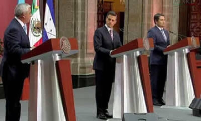 El presidente Peña Nieto destacó la firma de instrumentos con Guatemala para desarrollar proyectos de generación de electricidad de forma sustentable. (Foto: Tomada de twitter.com/PresidenciaMX )