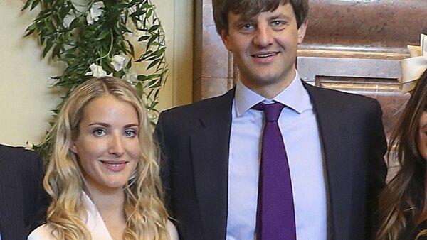 Enst August de Hannover y Ekaterina Malysheva