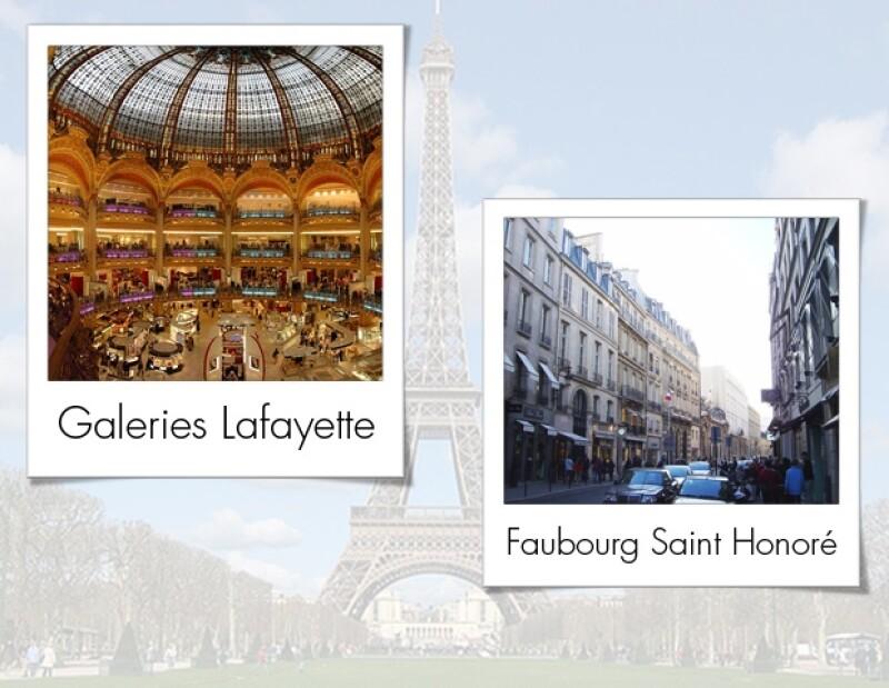París una parada obligada para el shopping.