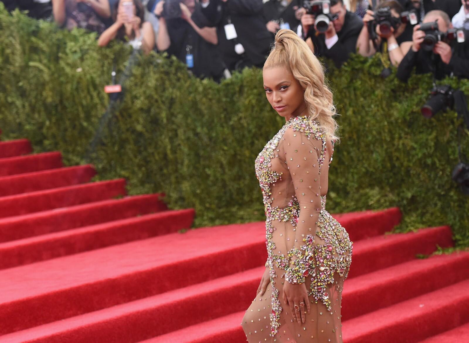 Beyoncé en Met Gala 2015