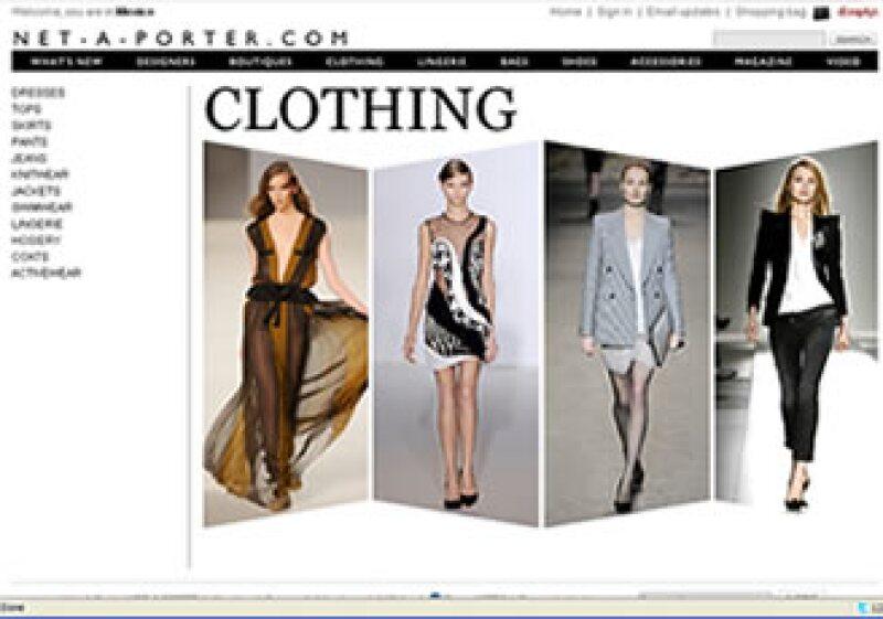 El sitio Net-a-porter.com, fundado por Natalie Massenet, atrae numerosos compradores. (Foto: Especial)