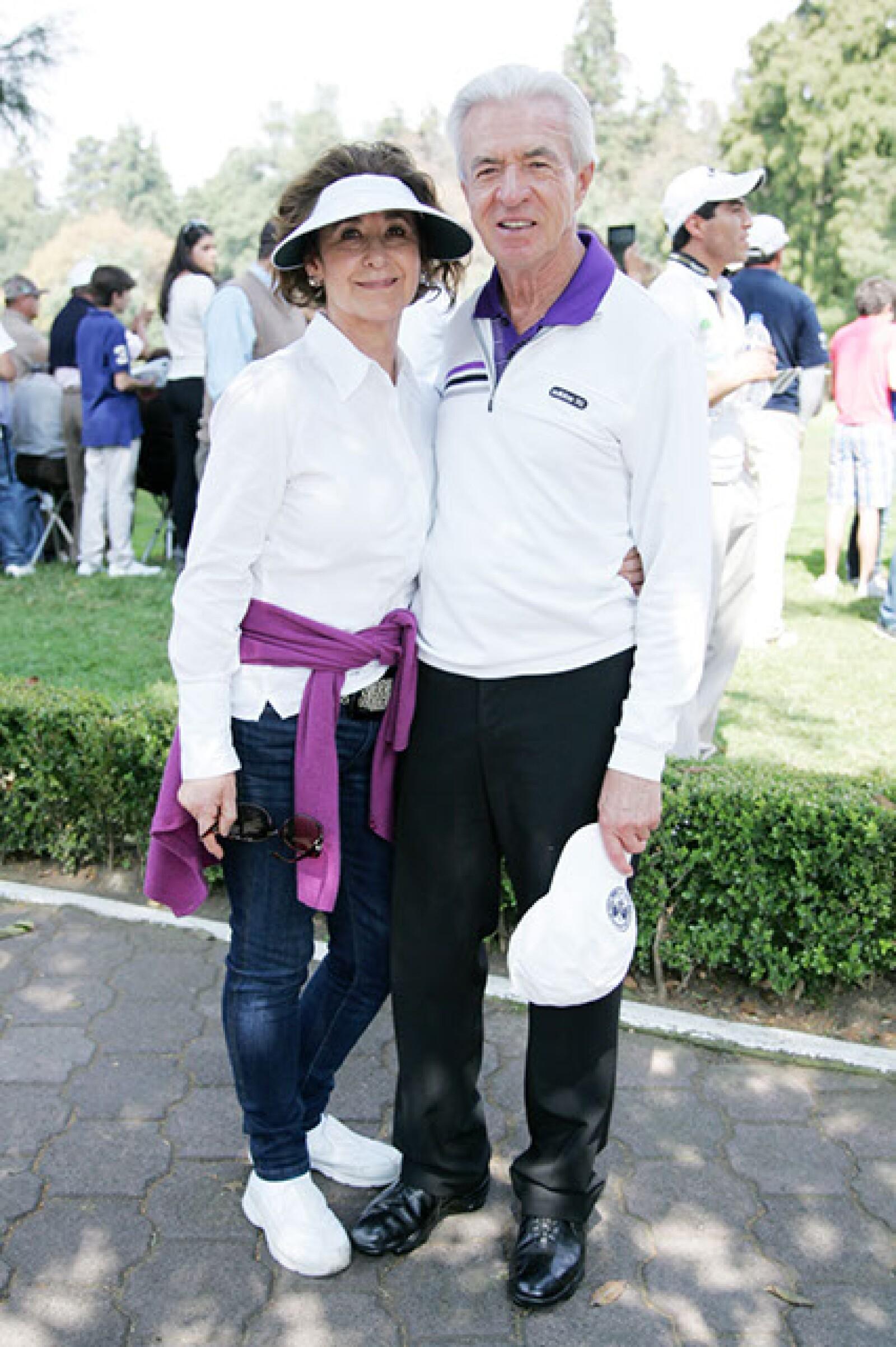 Yolanda y Eugenio Eraña