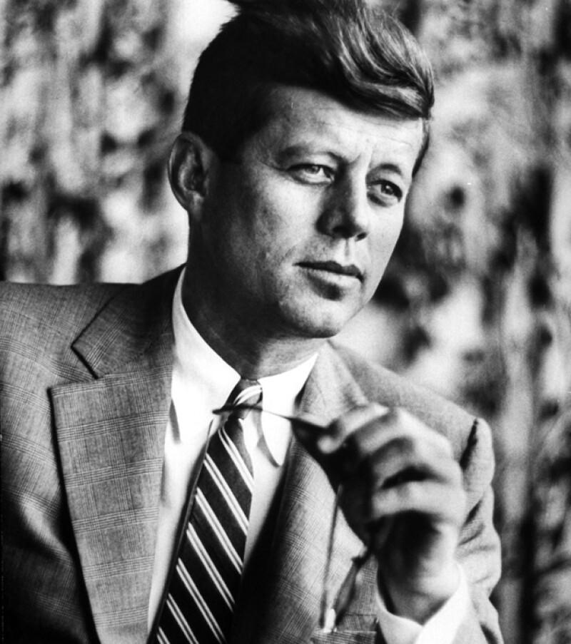 En 1960 el ex presidente se convirtió en el segundo mandatario más joven de su país, después de Theodore Roosvelt.