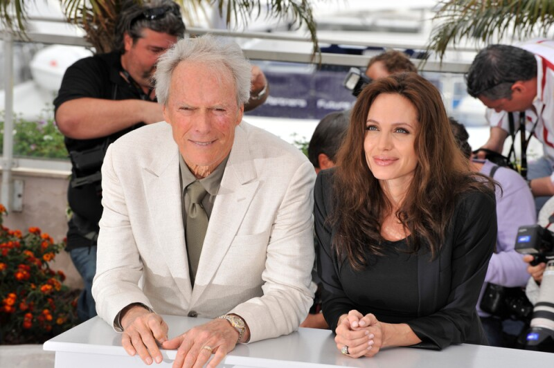 Con Clint Eastwood, director de Changeling (2008)